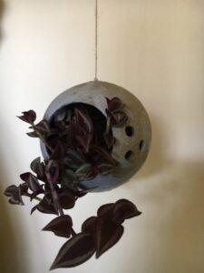 handgevormde plantenhanger
